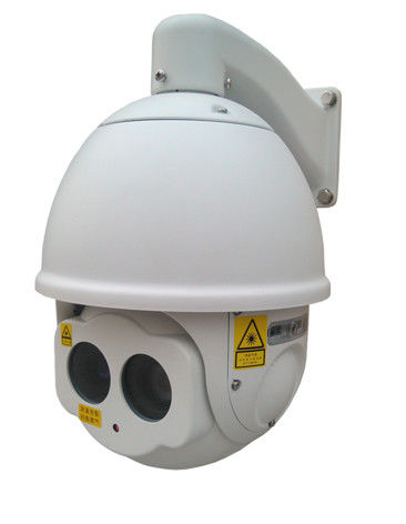 300m Outdoor Used Short Range Laser IR PTZ Camera , Night Vision Dome IP Camera