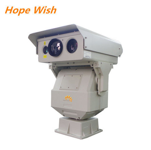 Multi Sensor PTZ Infrared Ir Night Vision Camera , Long Range Surveillance Camera