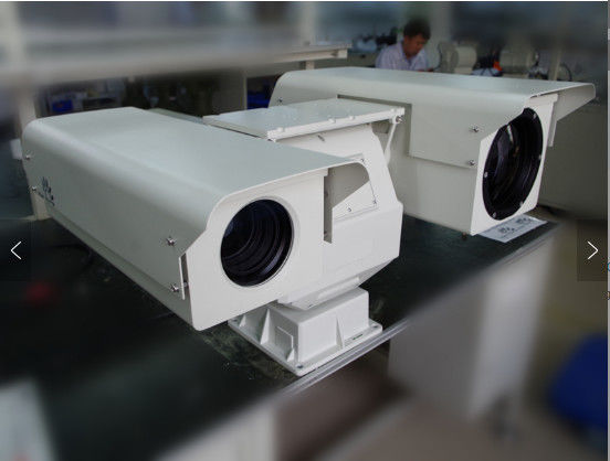 Cctv Dual Thermal Camera Delicate Picture Quality For Rugged Mobile Vehicle