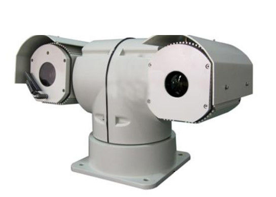 30x Mobile Long Range Ptz Camera Weatherproof With Integration Structure