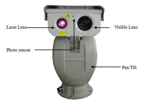 Zoom Night Vision Long Range Infrared Laser Camera PTZ CCTV Camera CMOS Sensor
