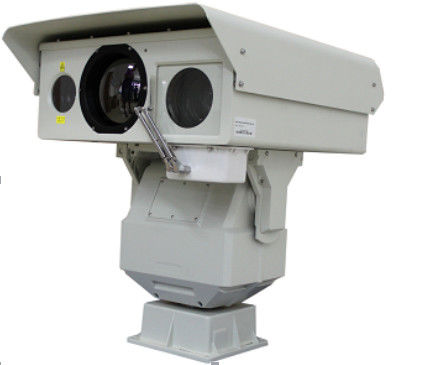 50mK 10W CMOS Thermal Surveillance System IP66 Untuk 10km Border Security