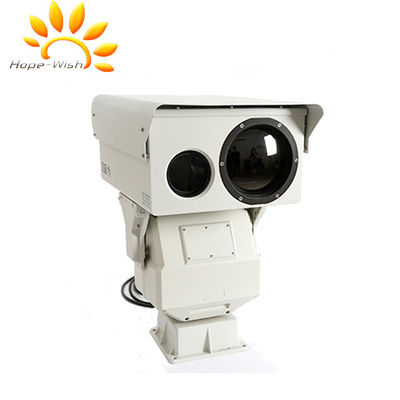 Kamera Thermal Imaging Sensor Ganda, PTZ Infrared Border Surveillance Camera