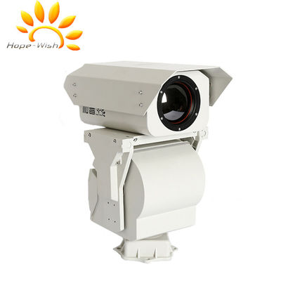 Uncooled Long Range Thermal Night Vision Camera CE Untuk Pengawasan Perbatasan