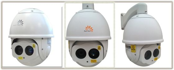 200m Jaringan HD IR Night Vision Camera, Laser 30X Pan Tilt Dome Camera